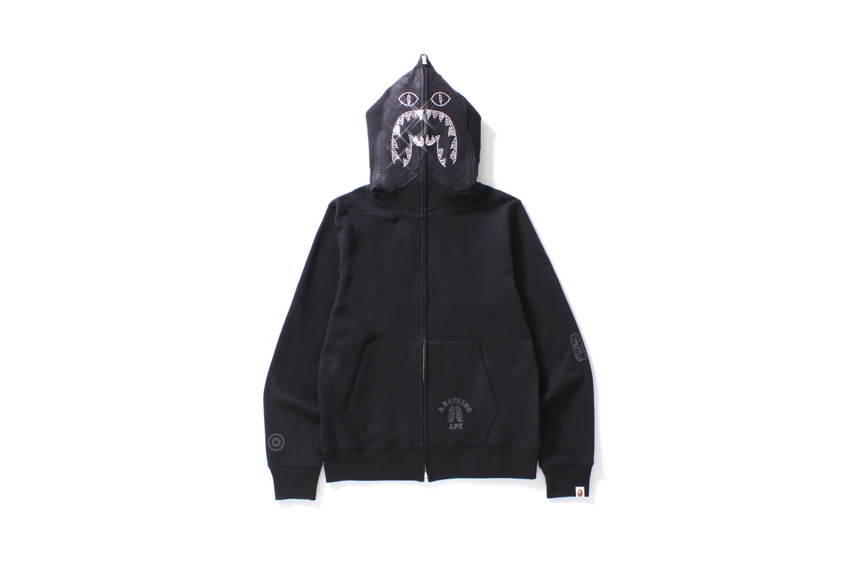 Bape nous offre un hoodie bling-bling dans sa toute dernière collection