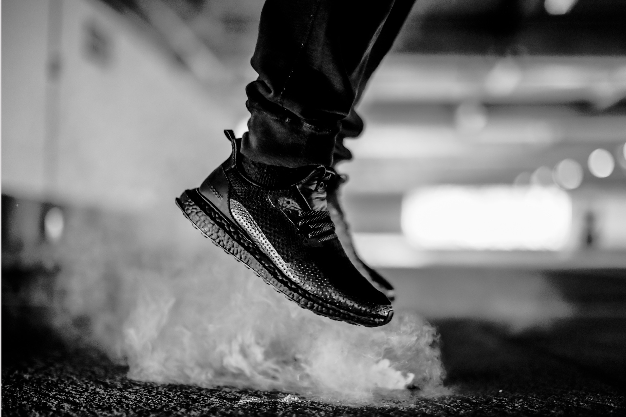La HAVEN x Adidas Consortium «Triple Black» UltraBOOST
