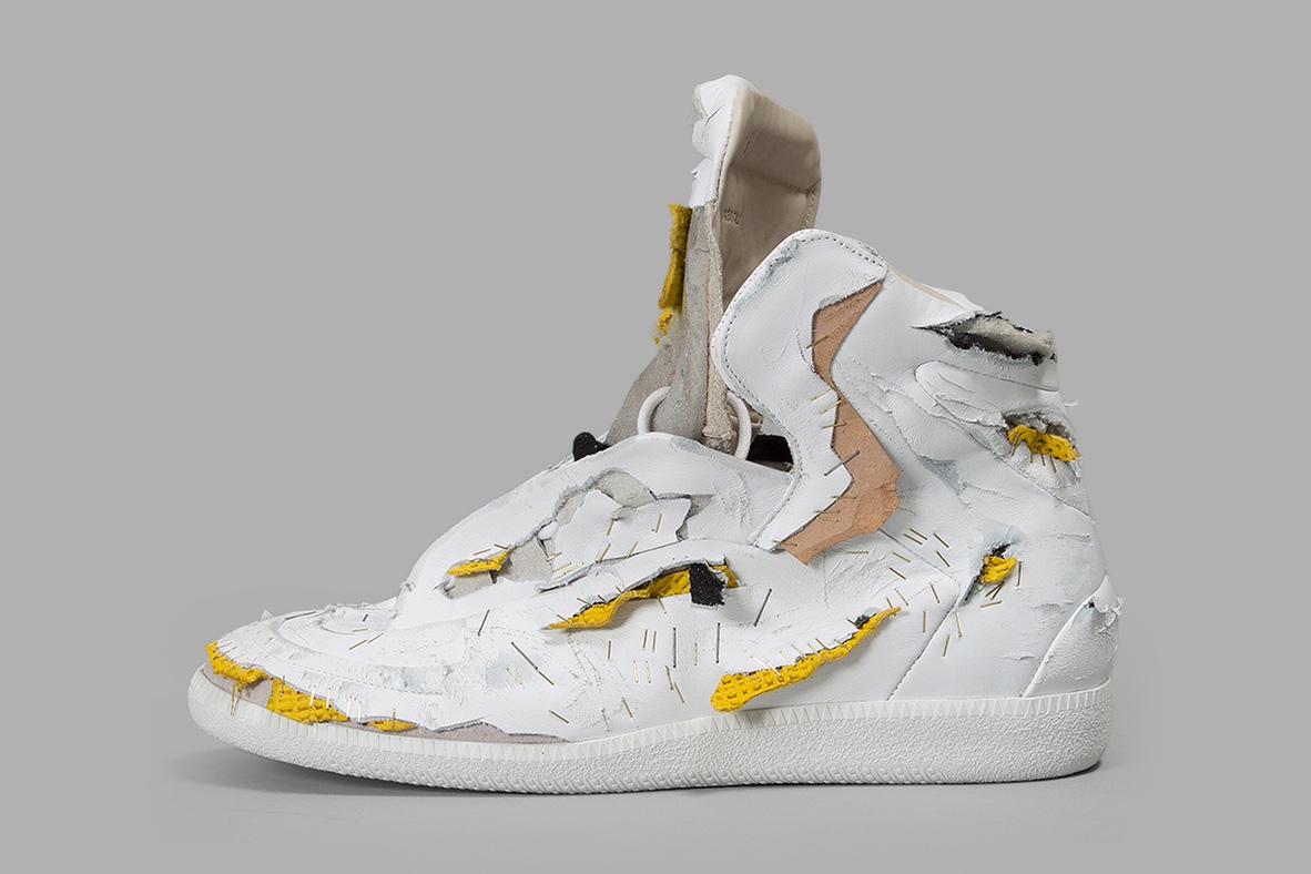 Maison Margiela détruit sa Future High-Top
