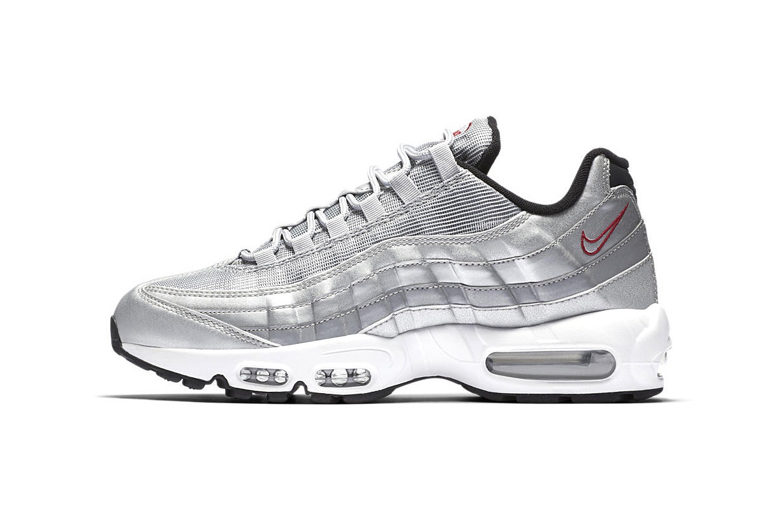 on sale 2905e 0a316 Nike donne à sa Air Max 95 le coloris « Silver ...