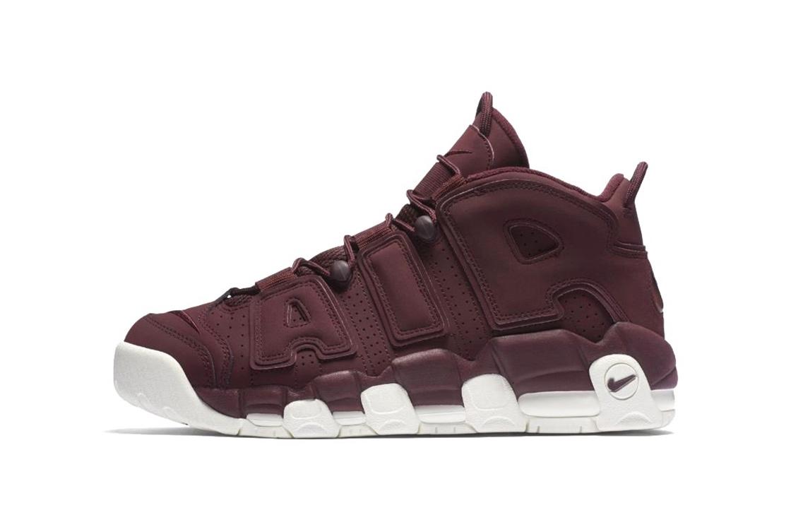 Nike dévoile une Air More Uptempo «Bordeaux»