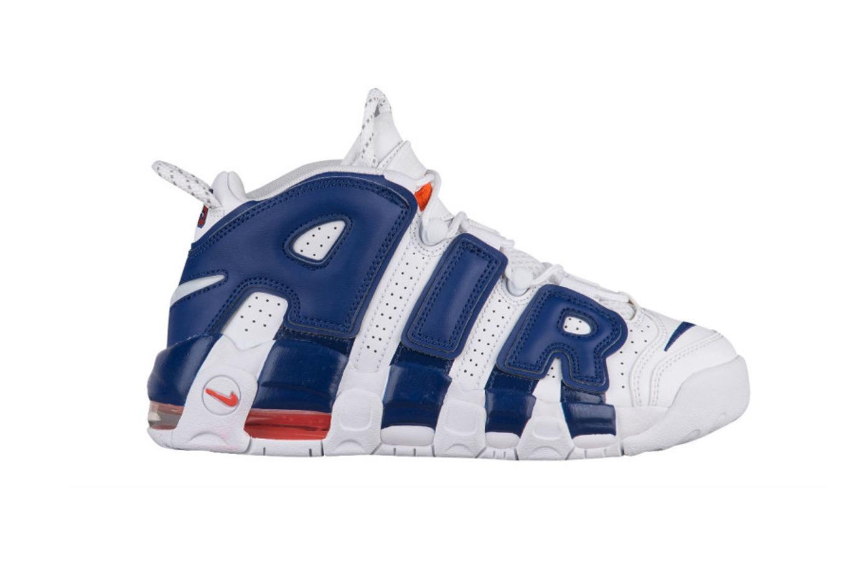 La Nike Air More Uptempo obtient un coloris Knicks