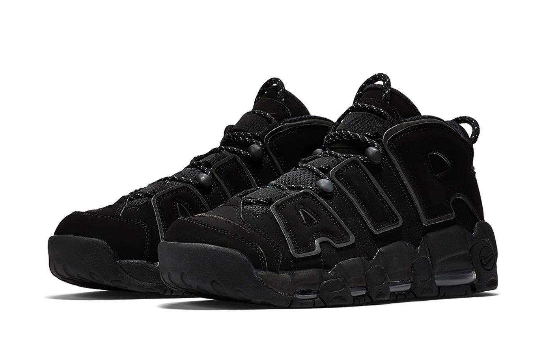 La Nike Air More Uptempo «Triple Black» est prévue pour ce mois-ci