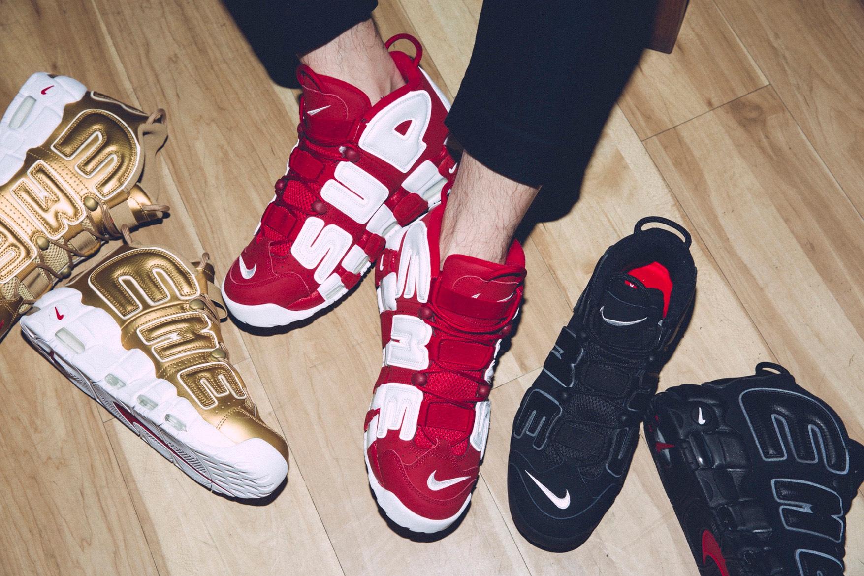 La Supreme x Nike Air More Uptempos prévue pour un deuxième round