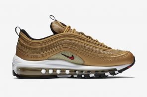 La Nike Air Max 97 «Metallic Gold» est de retour pour une deuxième fois