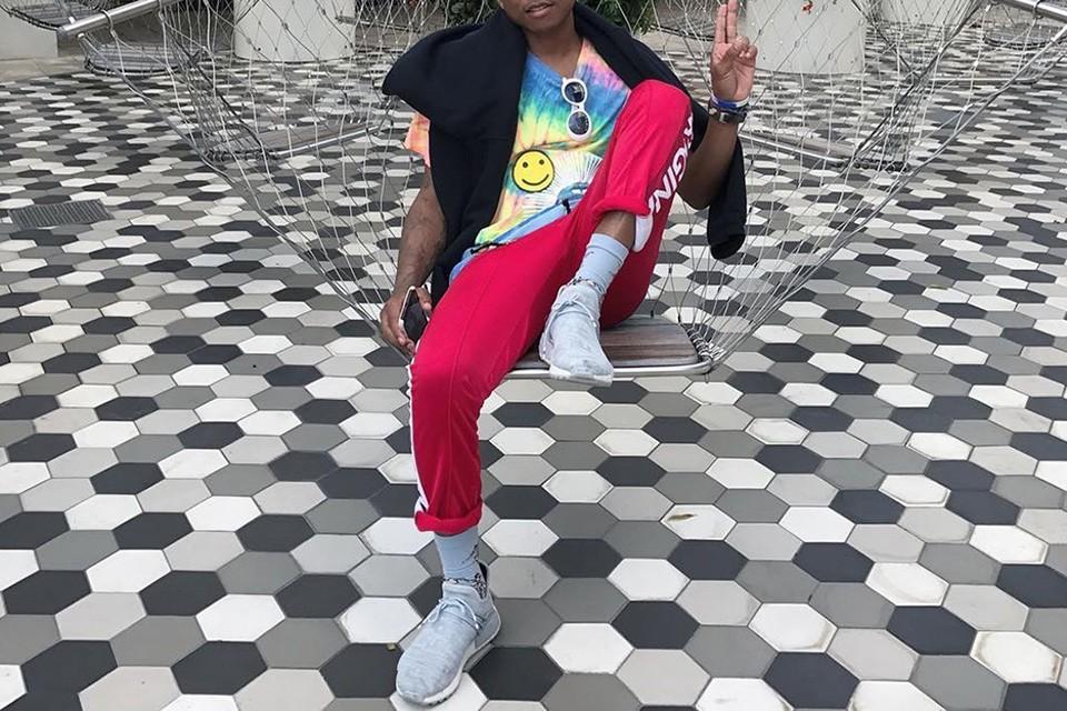 Pharrell tease sa nouvelle collaboration avec Adidas sur Instagram