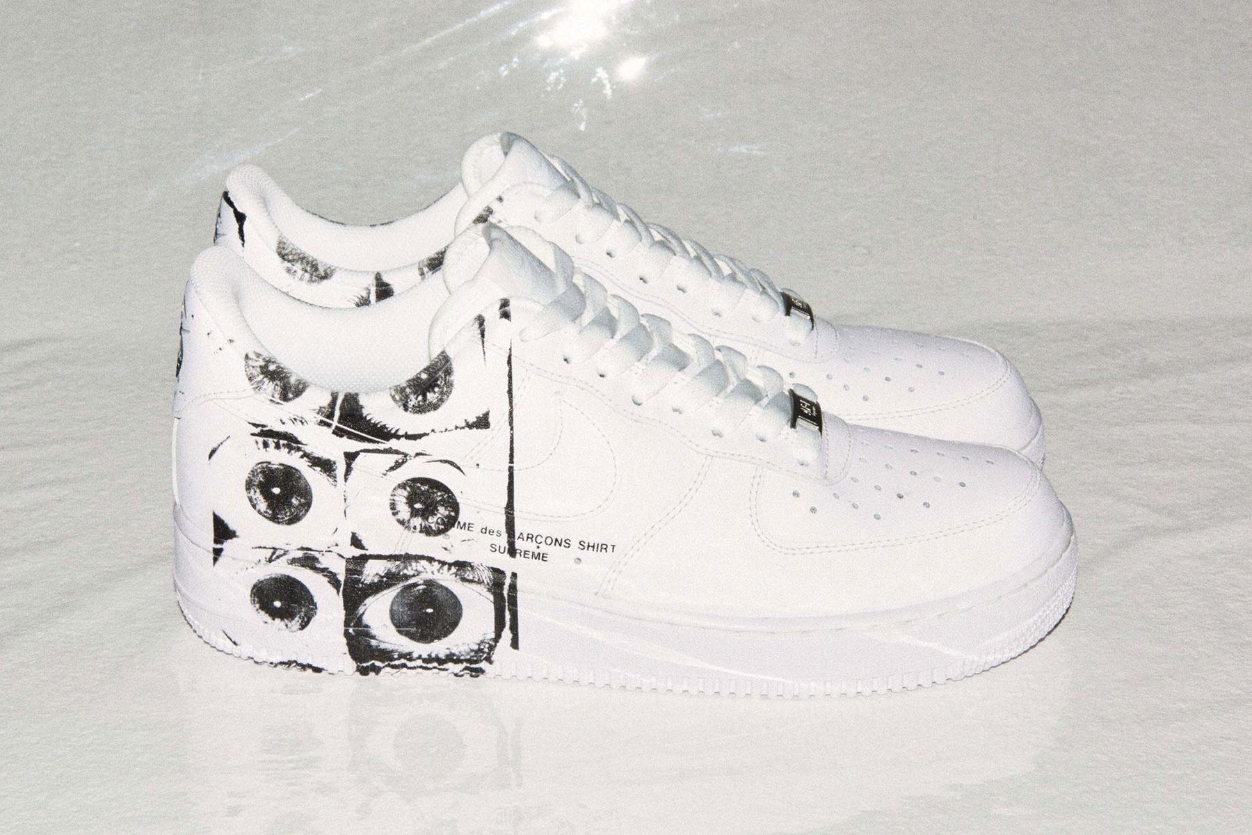 La Supreme x COMME des GARÇONS SHIRT x Nike Air Force 1 Low