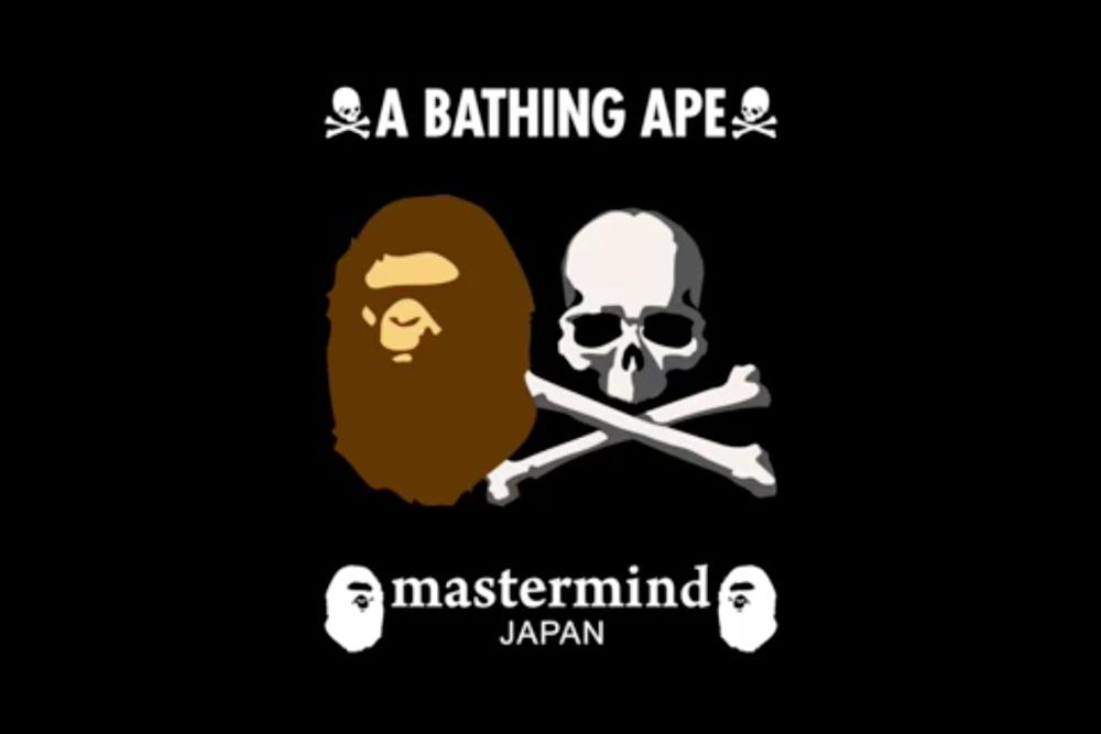 BAPE prépare une collection de lunettes avec Mastermind JAPAN