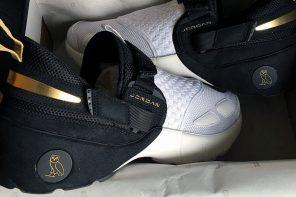 OVO édite une paire de sneakers pour l'openning du store Jordan à Toronto