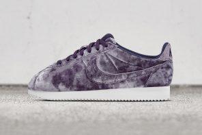 La Nike Cortez revient plus glamour que jamais dans un revêtement en velours