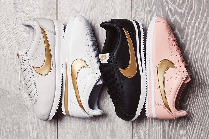 Nike livre un pack de Cortez «glitter» exclusivement pour nous mesdames