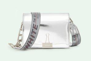Virigl Abloh balance une nouvelle édition de son «Binder Clip Bag» signée Off-White
