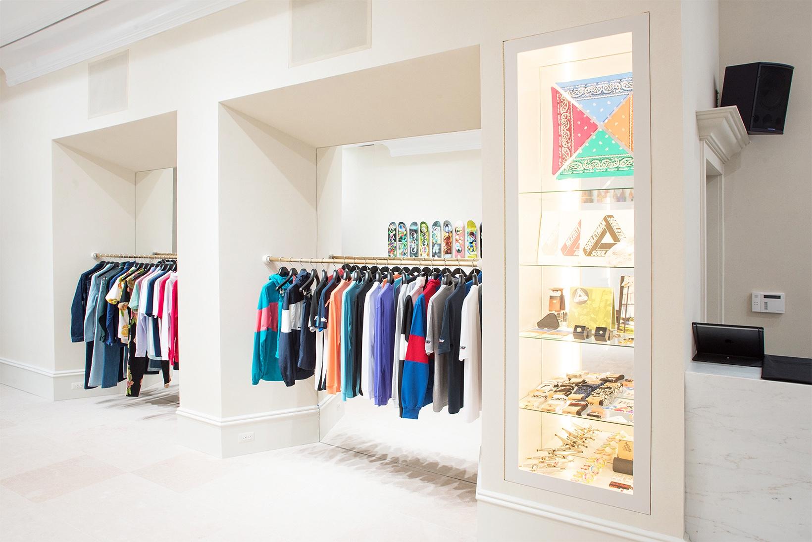 Jetez un œil à la nouvelle boutique new yorkaise signée Palace