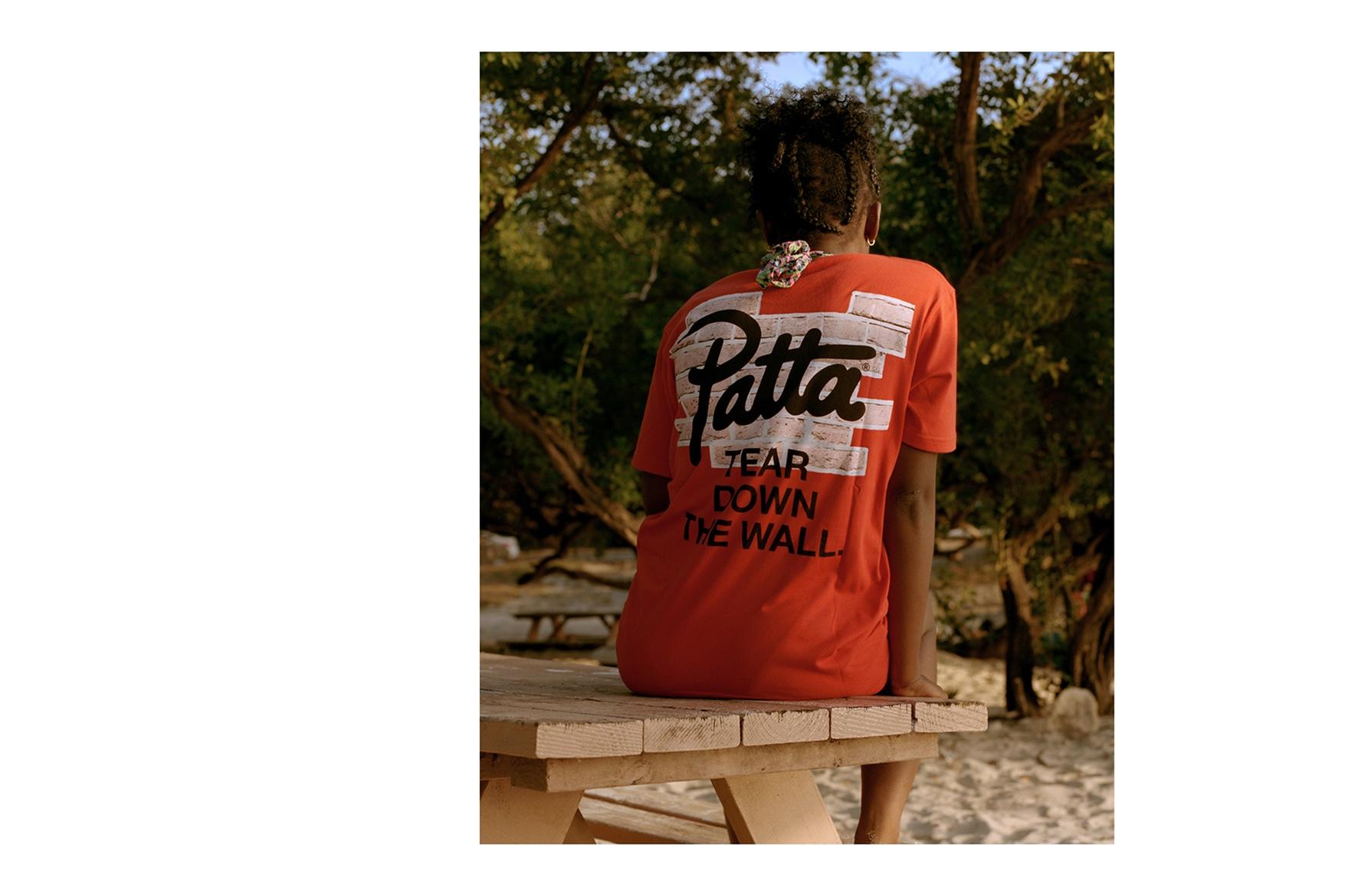 Pour sa collection Printemps / Été de 2017, Patta nous emmènent dans les Caraïbes