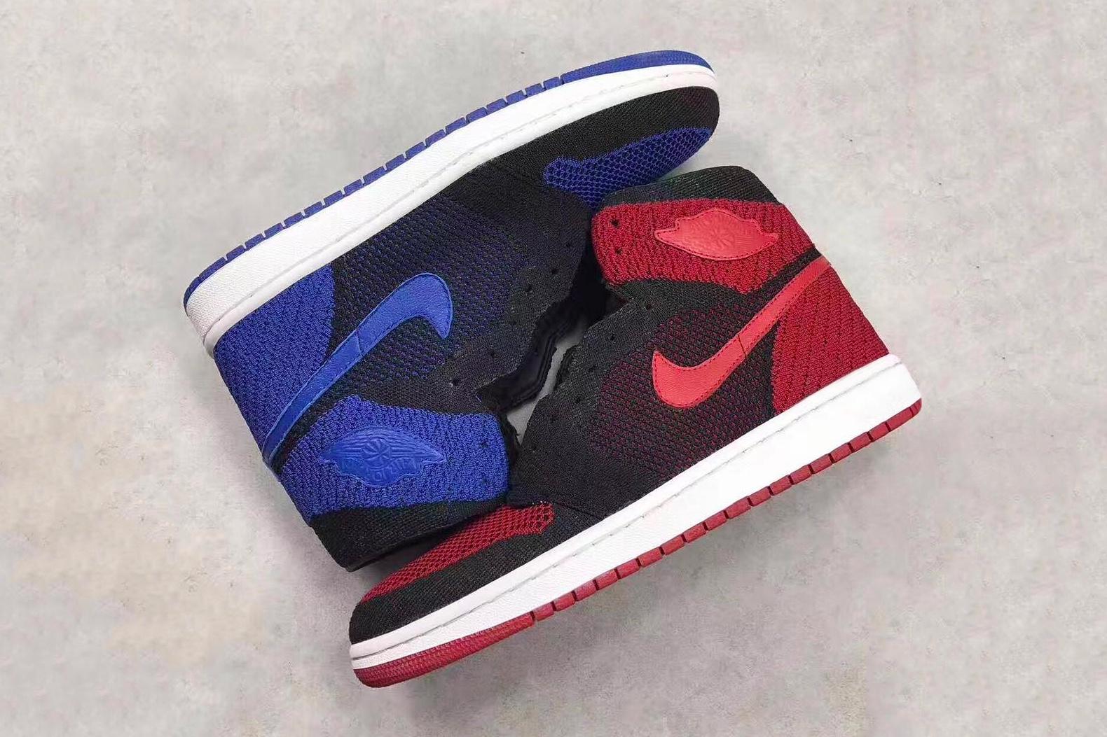 Jetez un œil à la Air Jordan 1 Flyknit en deux célèbres coloris