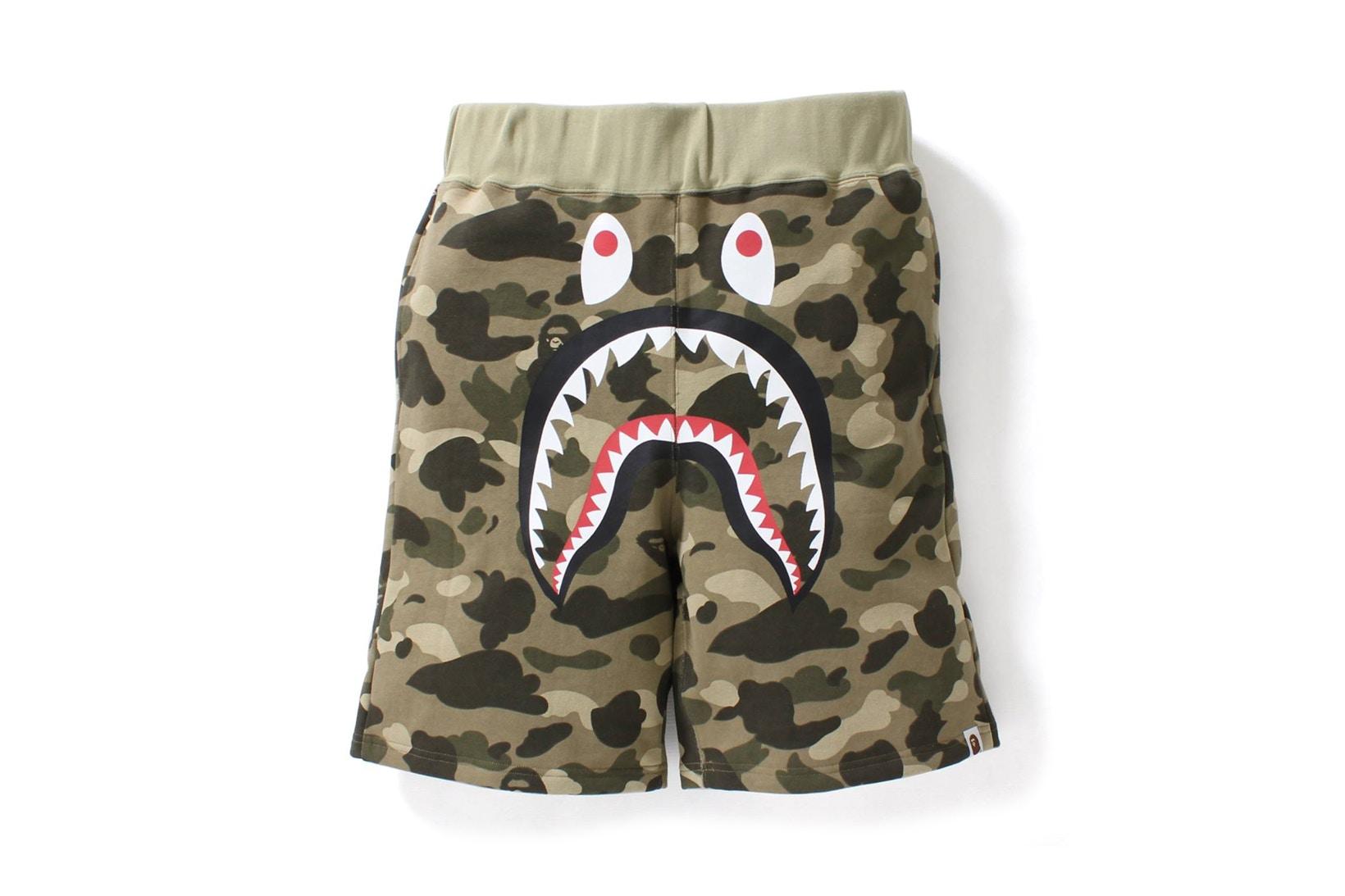 Bape va styler votre été avec ses shorts «camo» !