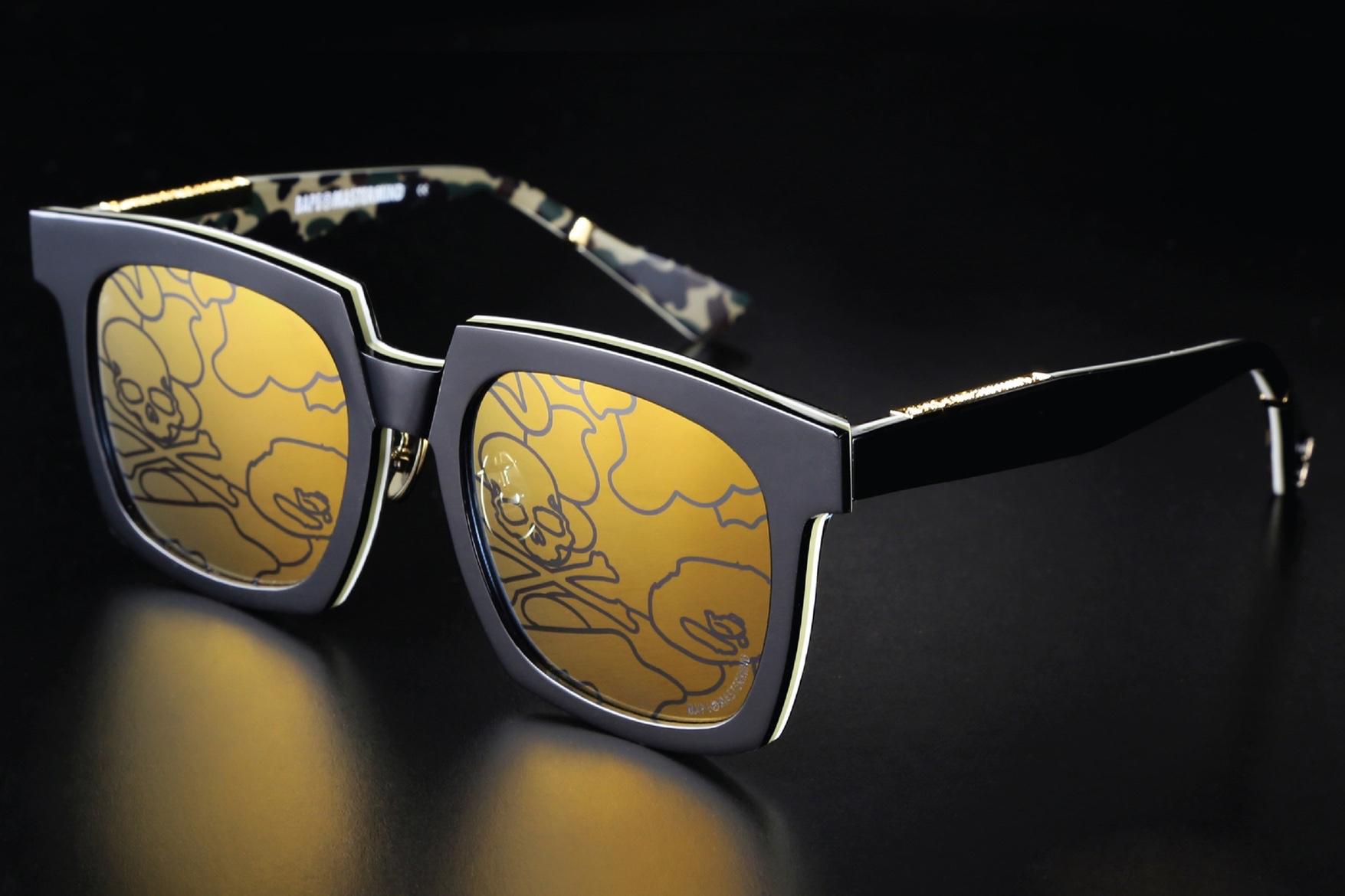 Bape nous offre un nouvel aperçu de sa gamme de sunnies en collab' avec Mastermind JAPAN