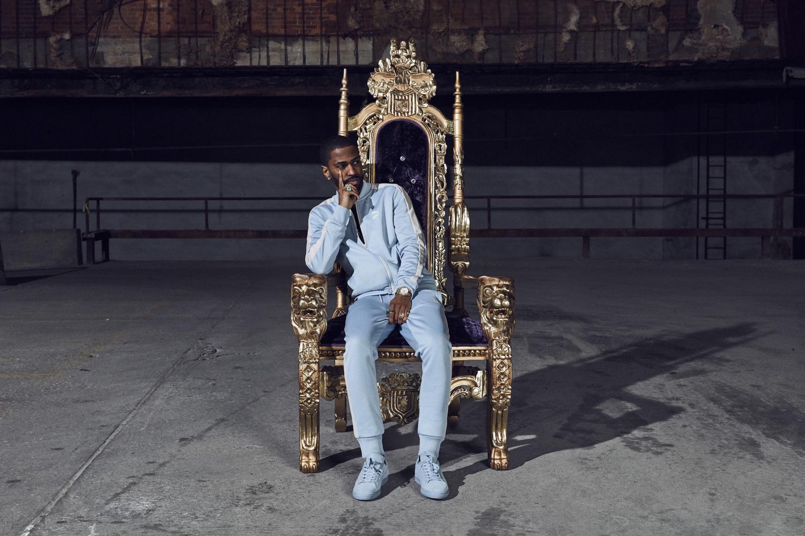 Big Sean présente la nouvelle Puma Suede Classic Tonal «Blue Fog»