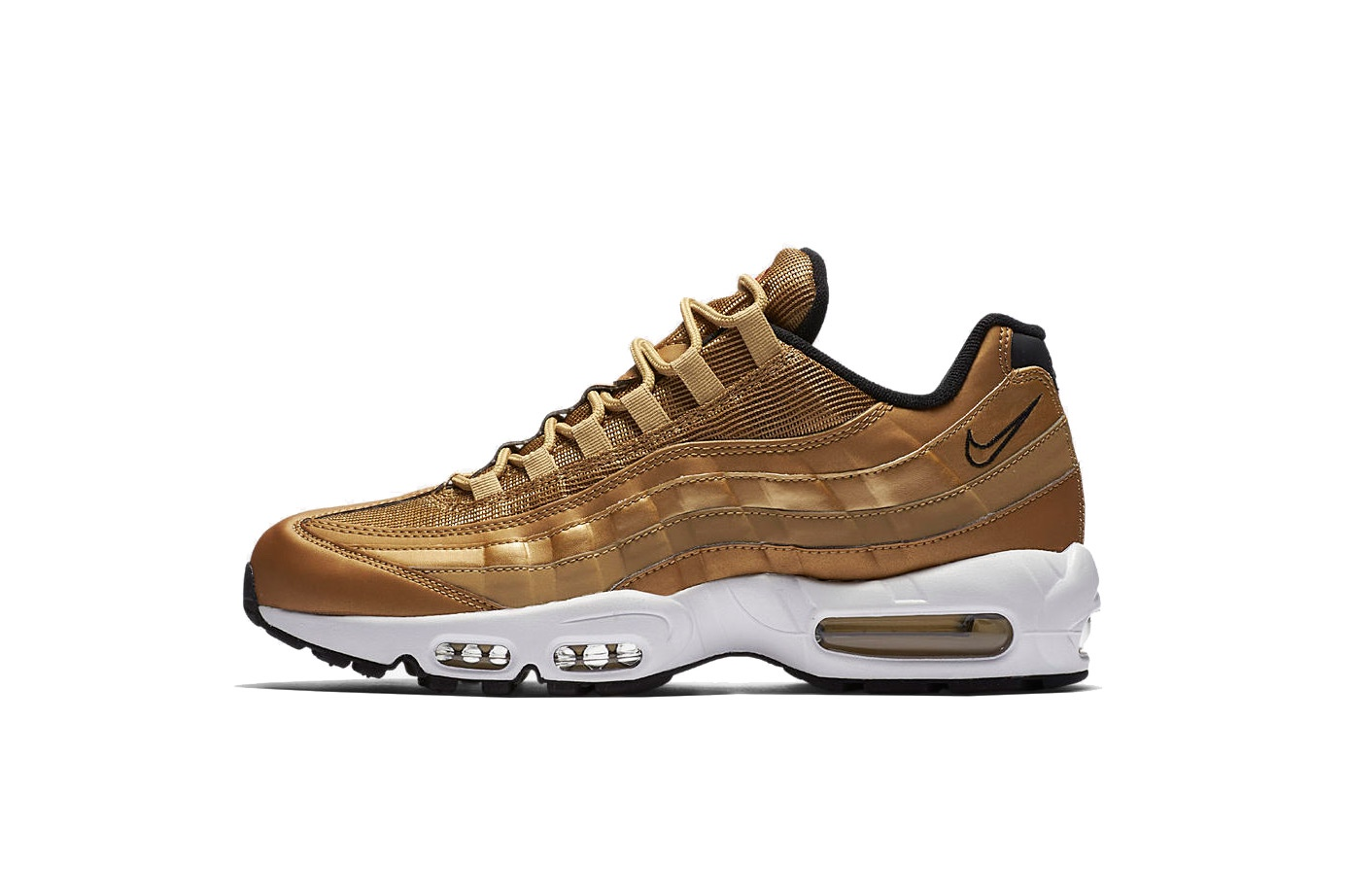 Nike va vous éblouir avec l'Air Max 95 «Metallic Gold»