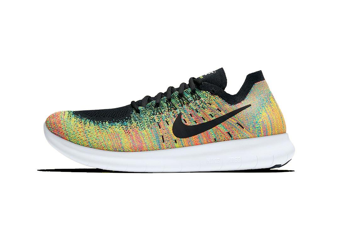 Voyez la vie en couleurs avec la Nike Free RN Flyknit «Multicolor»