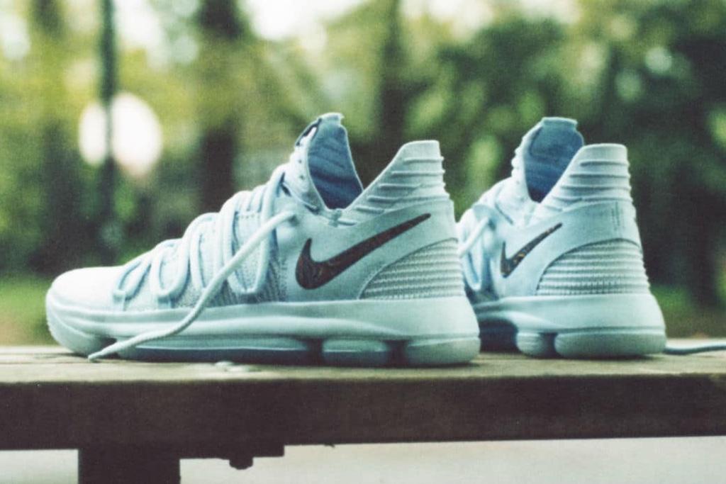 Nike fête le 10ème anniversaire de sa collaboration avec Kevin Durant avec la KD 10