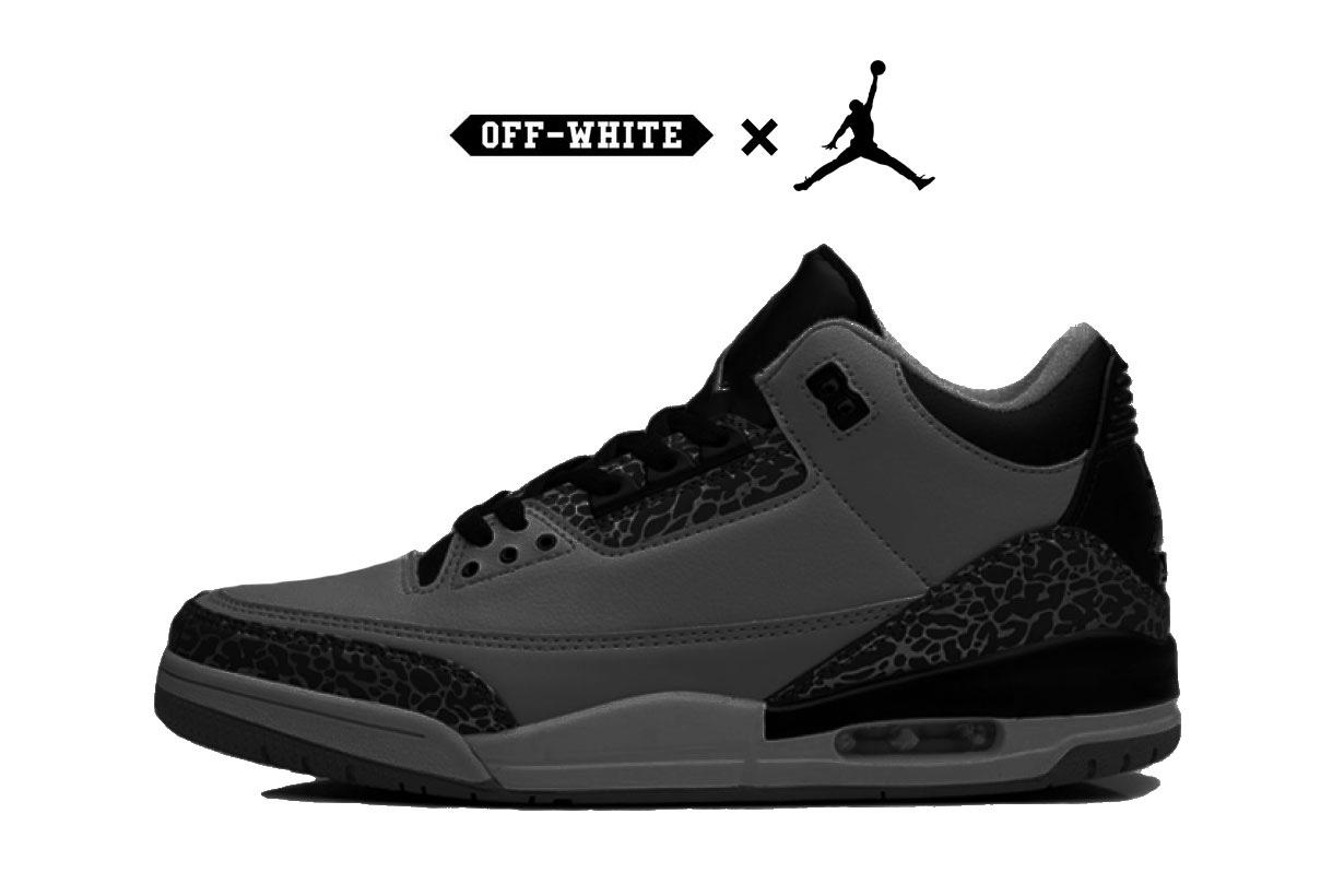 OFF-White et Nike pourraient retravailler la sortie de 10 paires de sneakers