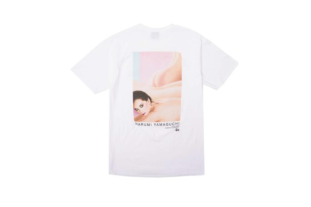 Stüssy révèle un trio de t-shirts en collaboration avec l'artiste japonaise Harumi Yamaguchi