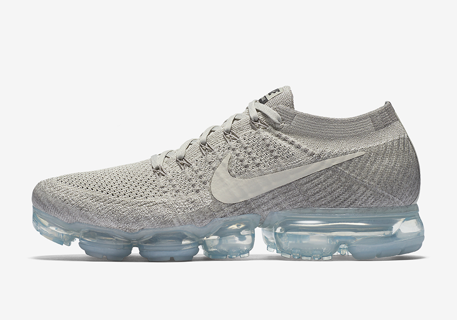 La Nike Air VaporMax Flyknit version « Pale Grey » de retour en stock