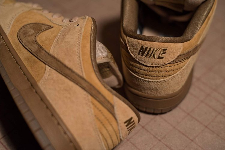 Nike SB Dunk Low Reverse Reese forbes wheat-3