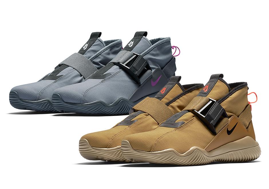 La Nike Lab ACG 07 KMTR dévoilée en «Cool Grey» et «Golden Khaki»