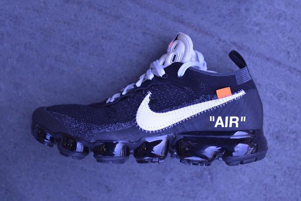 Un nouvel aperçu de la Air VaporMax signée Nike X OFF-White