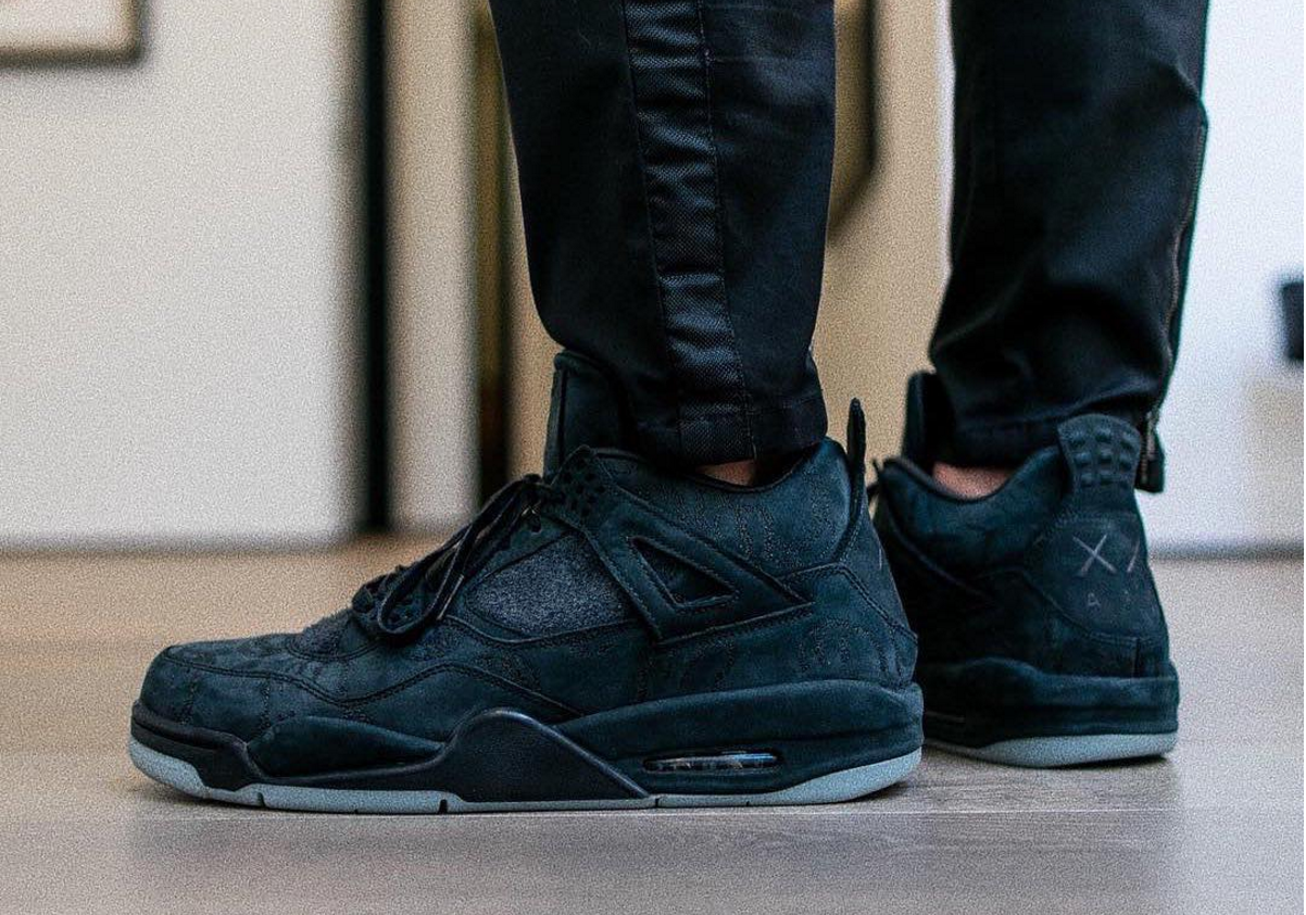 Une version rarissime de la Air Jordan 4 x Kaws fait surface sur instagram