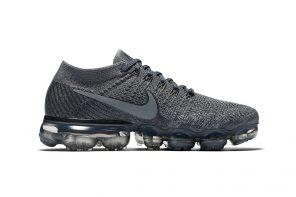 La Nike Vapomax s'habille d'un nappage «Cool Grey»