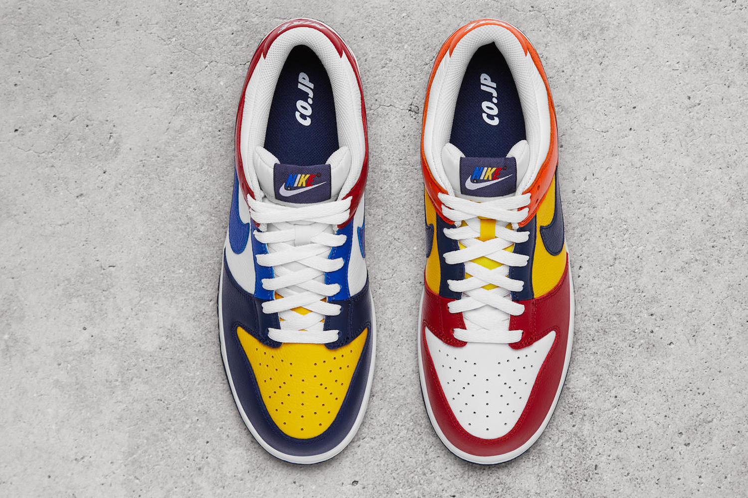 Nike propose une revisite de la Dunk Low haute en couleurs
