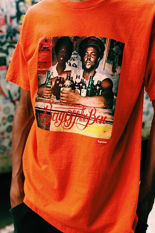 Supreme dévoile une série de  tee shirt en hommage à Wilfred Limonious