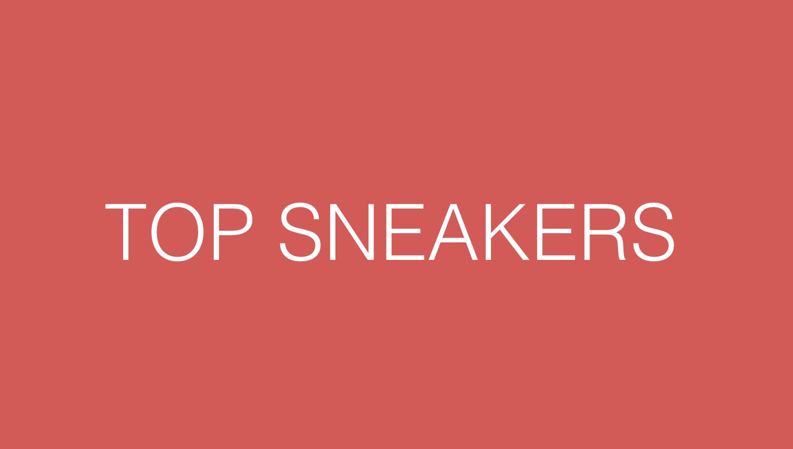 Mesdemoiselles, voici la sélection sneakers de votre été !