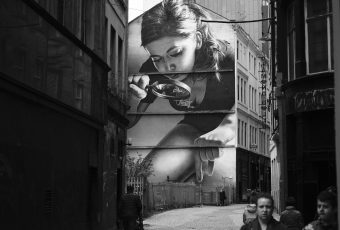 Uncluttered and Realistic Norwegian Street Art