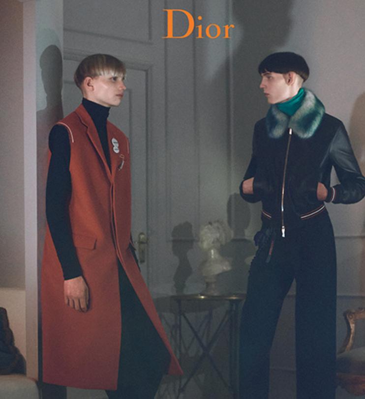 Dior Homme dévoile sa nouvelle campagne pour l'hiver 2017