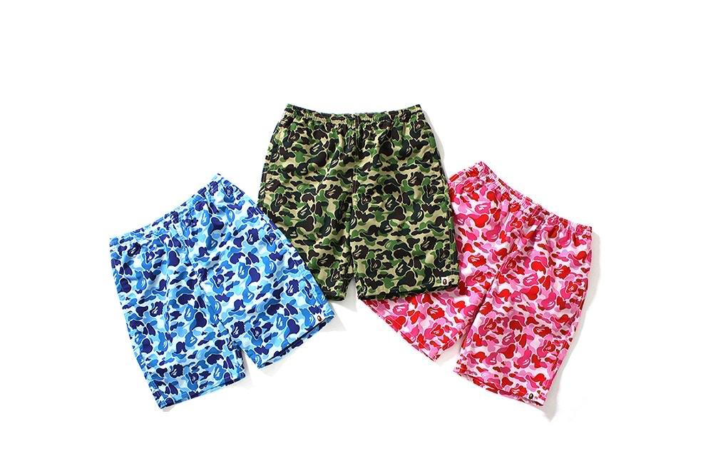 Bape vous offre un trio de shorts de bains pile à l'heure pour cet été messieurs