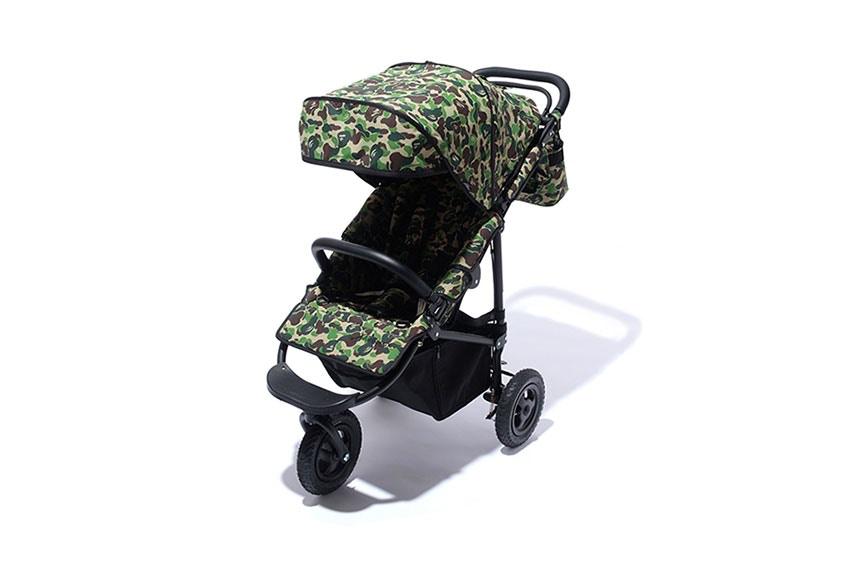 Bape sort une poussette «Camouflage» pour les plus stylés des parents
