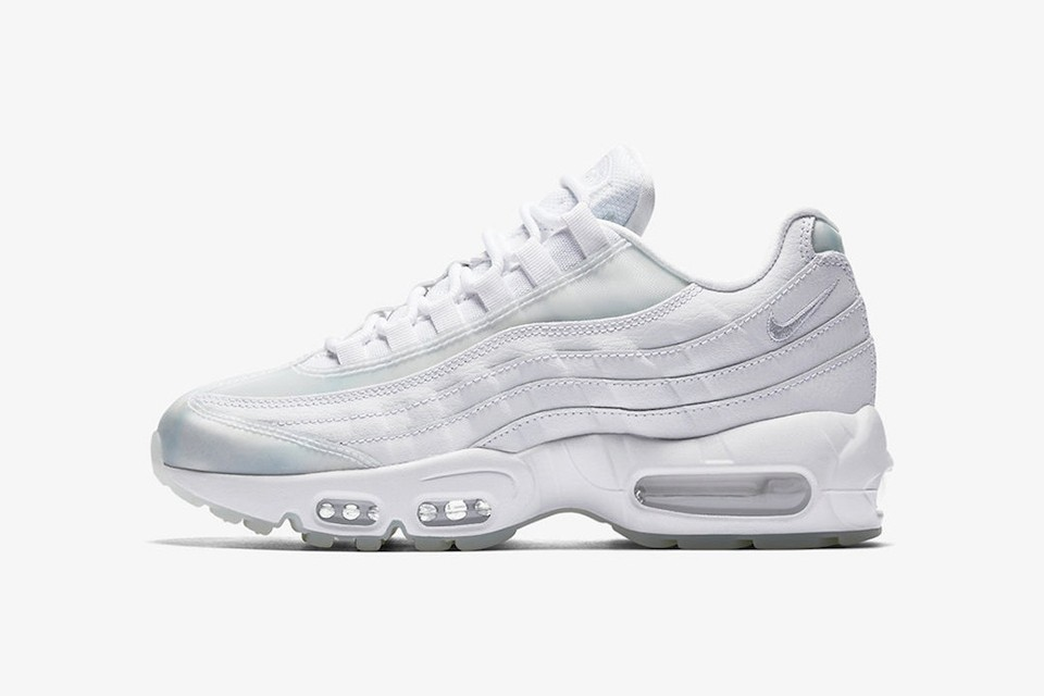 where to buy online for sale cheap Nike dote sa Air Max 95 d'un coloris all-white