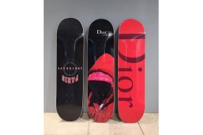 Les nouveaux Skateboards de Dior dévoilés par Kris Van Assche