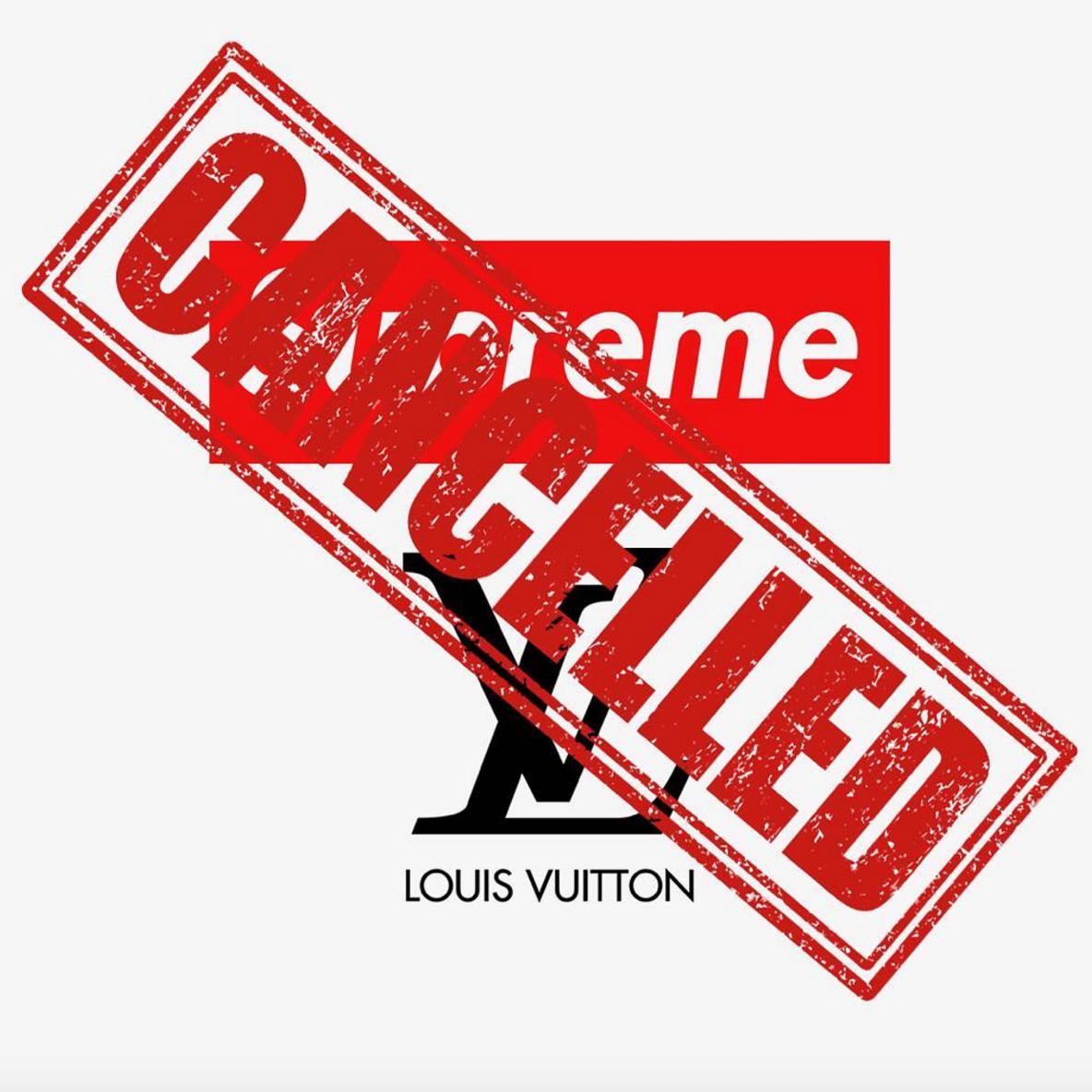 Louis Vuitton x Supreme : tous les points de ventes annulés !