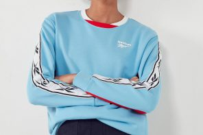 Reebok sort un sweat blue pastel  !