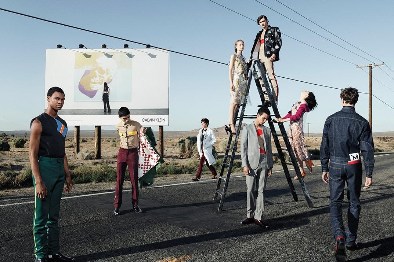 Les photos de la première campagne de Raf Simons pour Calvin Klein