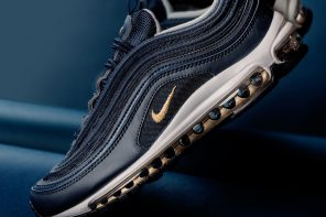 Un nouveau colorway « Midnight Navy Metallic Gold » pour la Air Max 97