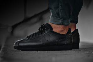 La Cortez de Nike revient tout en noir et en cuir
