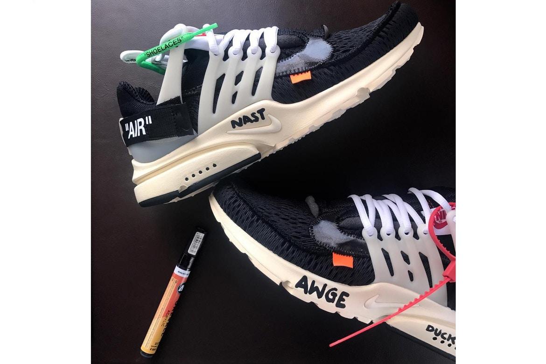 buy popular 82abd 2cb10 Un nouvel aperçu de la Nike Air Presto x Virgil Abloh Off-White™