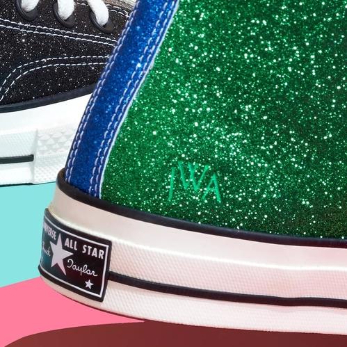 J.W.Anderson s'associe à Converse pour une Sneakers glitter
