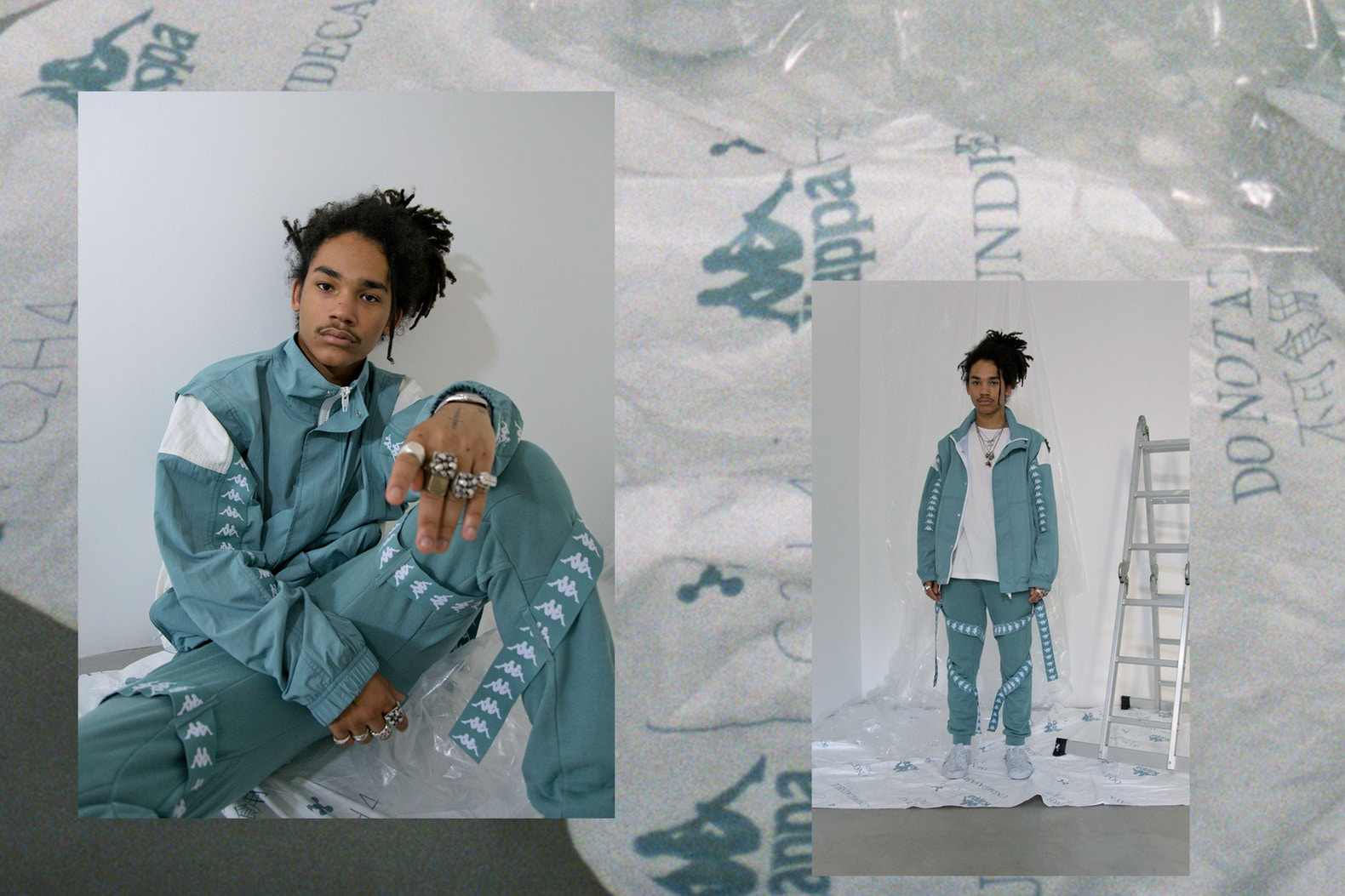 C2H4 et Kappa collaborent avec Luka Sabbat en shoot